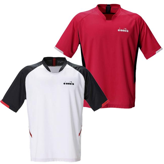 メール便可 即納 ジュニアウェア 在庫処分特価 ディアドラ Diadra ジュニア 半袖Tシャツ 情熱セール コンペディショントップ ボーイズ 次回使えるクーポンプレゼント DTJ0380 送料無料 新品 20y12mテニス