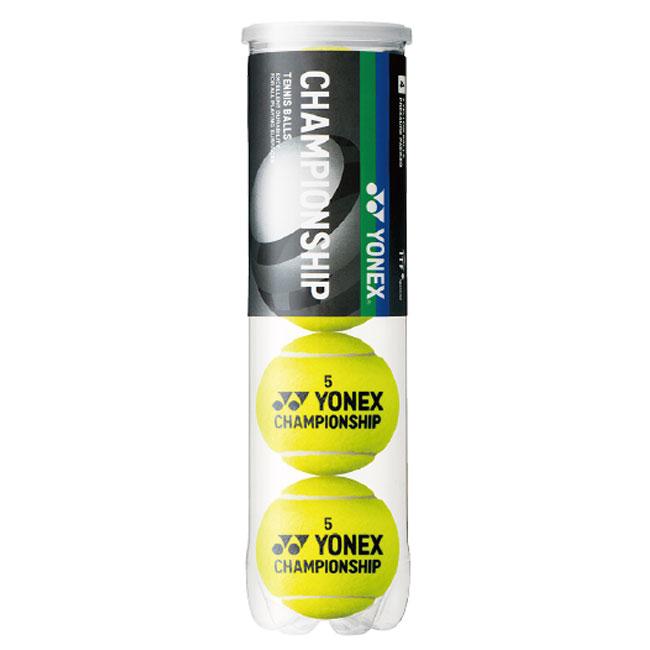 即納 28時間限定クーポン 4球入り ヨネックス 低価格 YONEX 2021 TB-CHS4P-004 イエロー チャンピオンシップ 21y1m CHAMPIONSHIP 超激安特価 硬式テニスボール