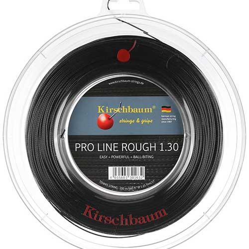 キルシュバウム プロライン2 ラフ (1.20/1.25/1.30mm) 200Mロール 硬式テニスガット ポリエステル ガット(KirschbaumPro Line 2 Rough String)【2016年4月発売】次回使えるクーポンプレゼント