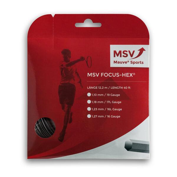 即納 メール便可 ノンパッケージ MSV 単張ガット お試し12Mカット品 フォーカスヘックス 1.10 時間指定不可 1.18 1.27mm 信用 HEX Focus ポリエステルガット 1.23 strings 硬式テニスガット 次回使えるクーポンプレゼント