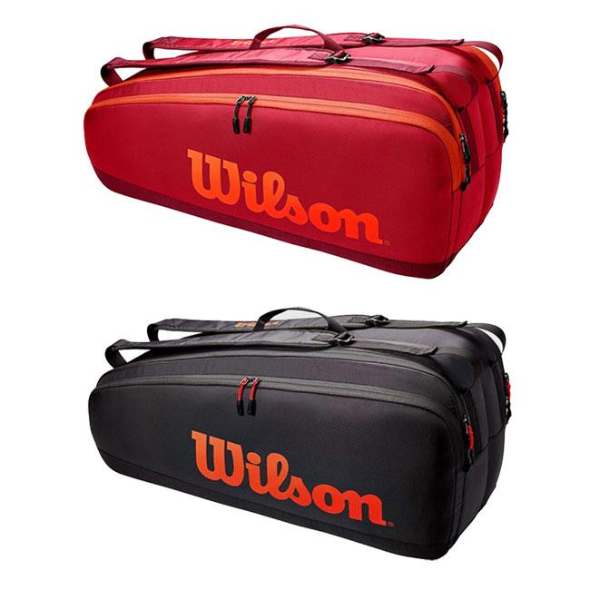 送料無料 定番 即納 6本収納 ウィルソン Wilson 2021 TOUR ツアー テニスバッグ WR8011302001 WR8011301001 6PK ラケットバッグ 希望者のみラッピング無料 21y5m 次回使えるクーポンプレゼント