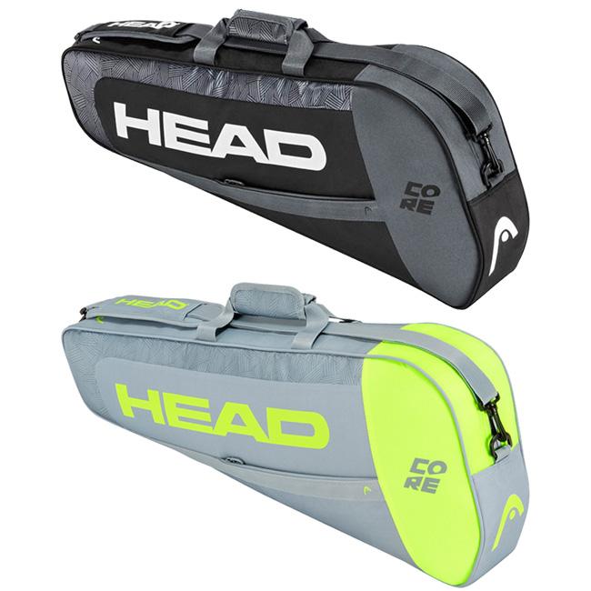 即納 3本収納 ヘッド SALE開催中 HEAD CORE PRO 3R 次回使えるクーポンプレゼント テニスバッグ 21y8m プロ 送料込 283411 コア ラケットバッグ