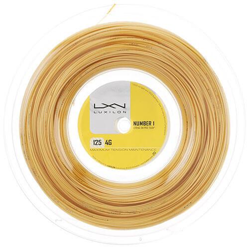 ルキシロン 4G(1.25mm/1.30mm) 200Mロール WRZ990141/WRZ990142硬式テニス ポリエステル ガット(Luxilon 4G 200m String Reel)(16y7m)[次回使えるクーポンプレゼント]