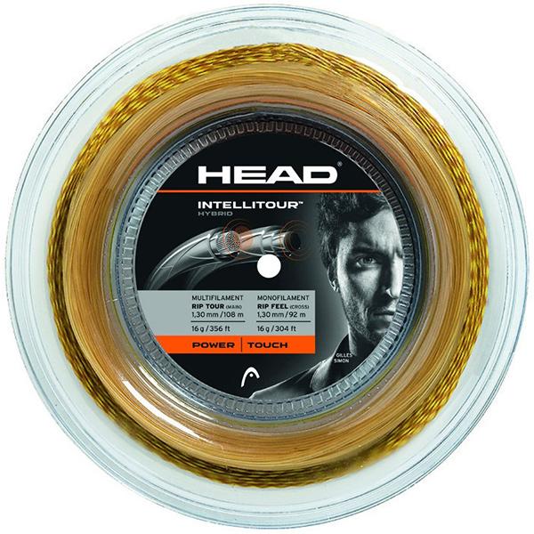 【ハイブリッド】ヘッド インテリツアー ロール (メイン108m クロス92m)硬式テニスガット(1.25mm/1.30mm)(Head INTELLITOUR)281012