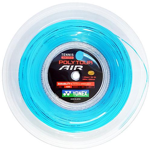 ヨネックス ポリツアー エア 200Mロール(1.25mm)PTA125-2硬式テニスガット ポリエステルガット(YONEX POLY TOUR AIR 200M Reel)(16y11m)[次回使えるクーポンプレゼント]