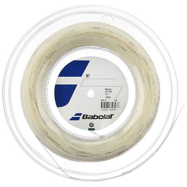 バボラ(Babolat) M7(1.25mm/1.30mm/1.35mm/1.40mm) 200Mロール 243131 マルチフィラメントガット(17y7m)硬式テニスガット[次回使えるクーポンプレゼント]