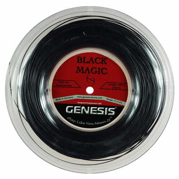上品 ジェネシス(GENESIS) 硬式テニス ブラックマジック(1.23mm/1.29mm)200Mロール 硬式テニス ポリエステルガット【2017年5月登録】, P&LUXE:b163d248 --- sukhwaniconstructions.com