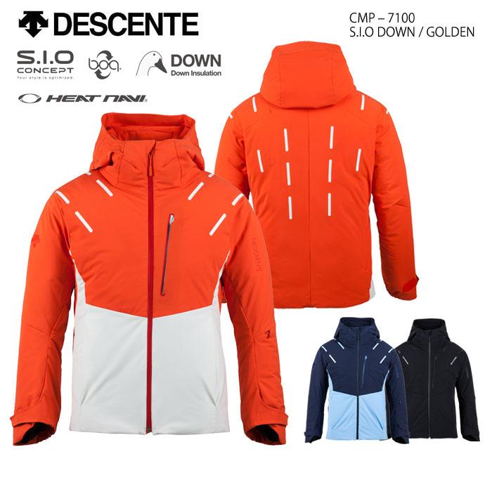 スキーウェア ジャケット/DESCENTE デサント S.I.O DOWN/GOLDEN CMP-7100(2018)