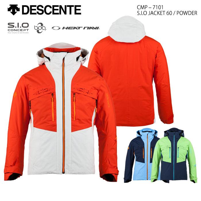 競売 スキーウェア ジャケット S.I.O/DESCENTE デサント S.I.O スキーウェア JACKET 60 JACKET/POWDER CMP-7101(2018), 結婚式プチギフト店 まんぞく屋:6c2b22c6 --- construart30.dominiotemporario.com