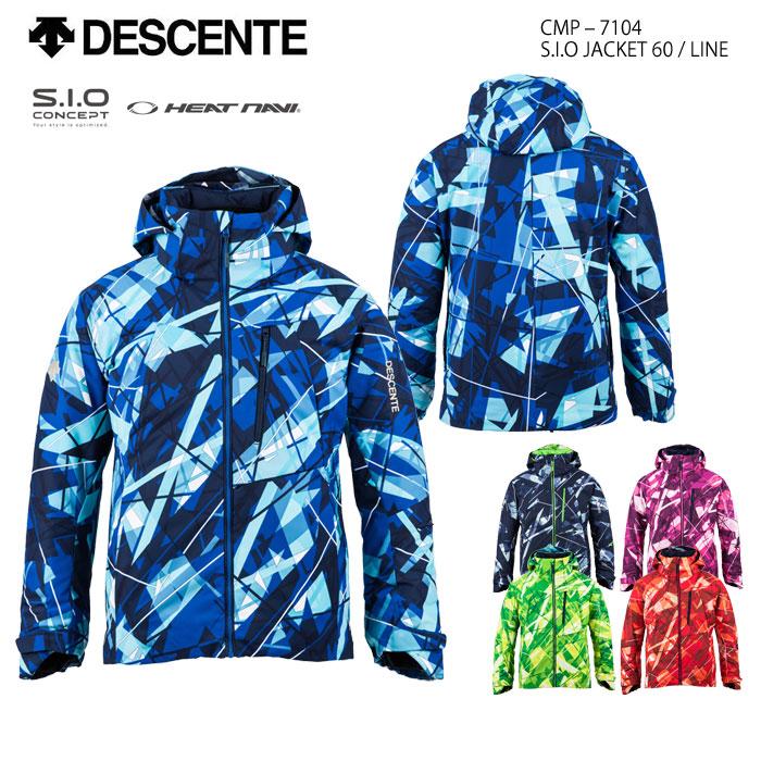 スキーウェア ジャケット/DESCENTE デサント S.I.O JACKET 60/LINE CMP-7104(2018)