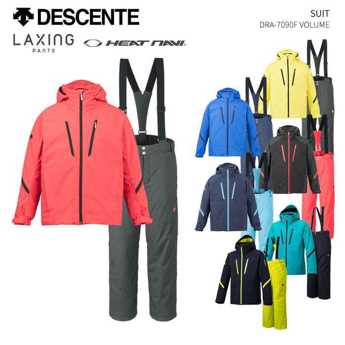 DESCENTE デサント スキーウェア 上下セット DRA-7090F(2019)