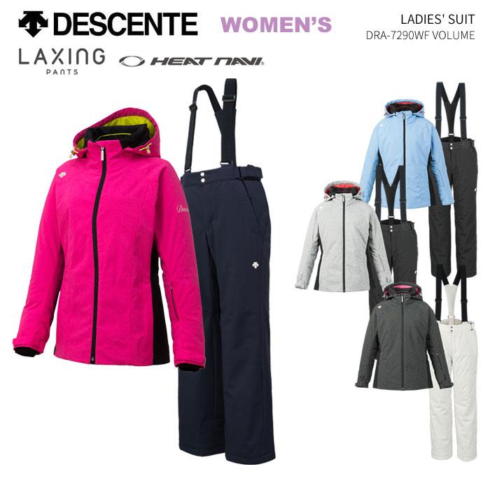 DESCENTE デサント レディーススキーウェア 上下セット DRA-7290WF(2019)