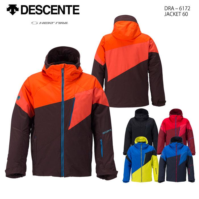 スキーウェア ジャケット/DESCENTE デサント JACKET 60 DRA-6172(16/17)
