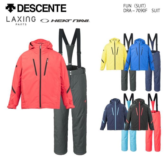 DESCENTE デサント スキーウェア 上下セット DRA-7090F(2018)