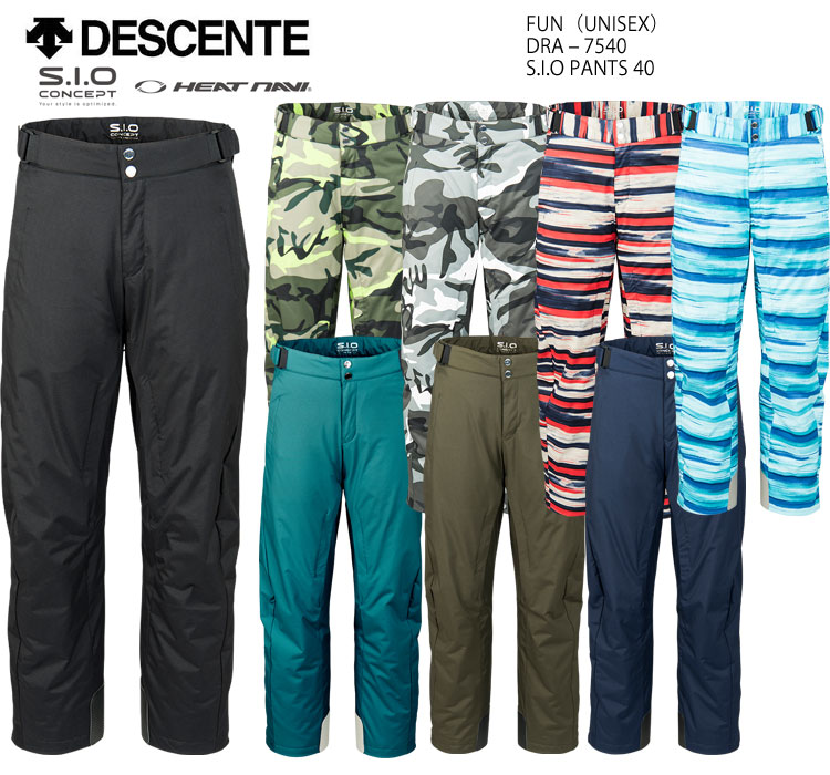 DESCENTE デサント スキーウェア パンツ S.I.O PANTS DRA-7540(2018)