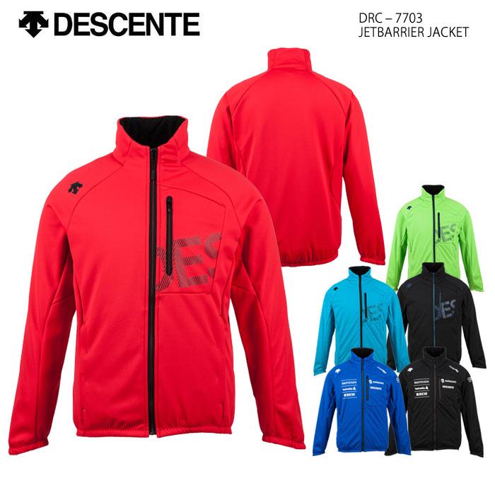スキーウェア ミドルジャケット/DESCENTE デサント JETBARRIER JACKET DRC-7703(2018)