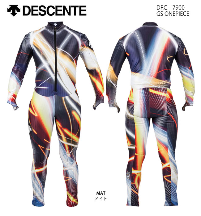 スキーウェア GSワンピース/DESCENTE デサント GS ONEPIECE DRC-7900(2018)