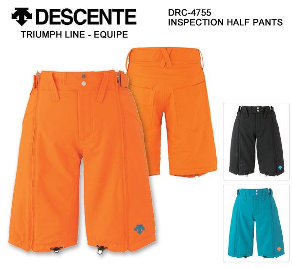 DESCENTE デサント スキーウェア INSPECTION HALF パンツ DRC-4755