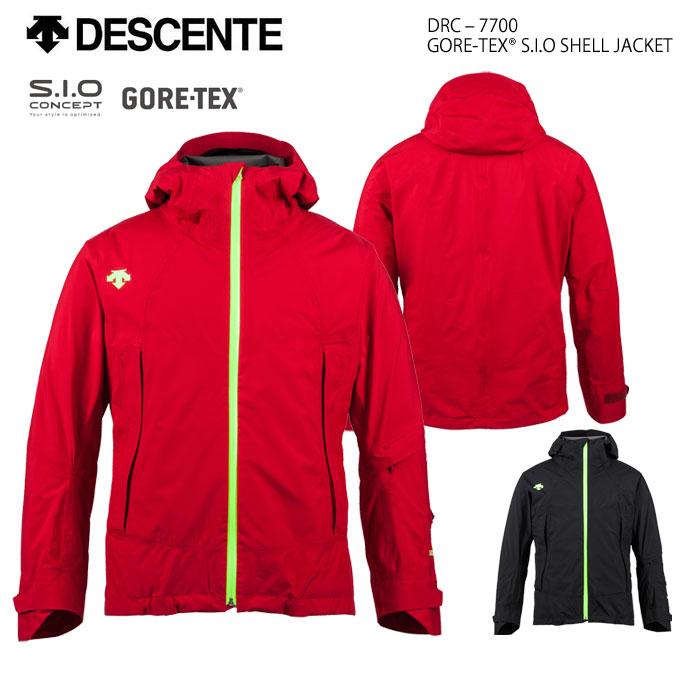 スキーウェア ジャケット/DESCENTE デサント GORE-TEX S.I.O SHELL JACKET DRC-7700(2019)