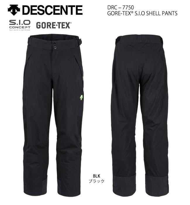 スキーウェア パンツ/DESCENTE デサント GORE-TEX S.I.O SHELL PANTS DRC-7750(2019)