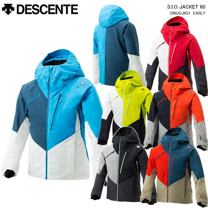 DESCENTE/S.I.O JACKET 60 技術選選手着用モデル DESCENTE/デサント スキーウェア ジャケット S.I.O JACKET 60/DWUOJK51(2020)19-20