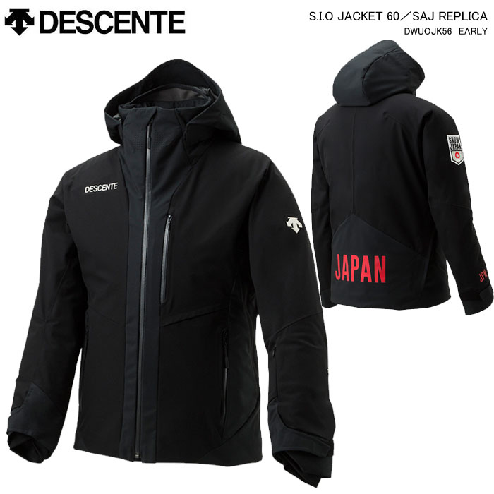 DESCENTE/S.I.O JACKET 60/SAJ REPLICA DESCENTE/デサント スキーウェア S.I.O ジャケット/SAJ REPLICA/DWUOJK56(2020)19-20