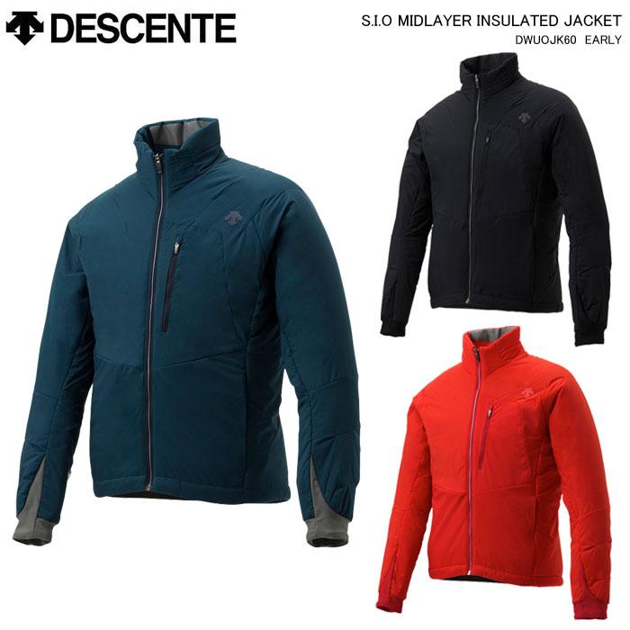 DESCENTE/デサント スキーウェア ミドルジャケット INSULATED JACKET/DWUOJK60(2020)19-20