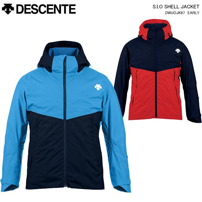 DESCENTE/デサント スキーウェア S.I.O シェルジャケット/DWUOJK67(2020)19-20