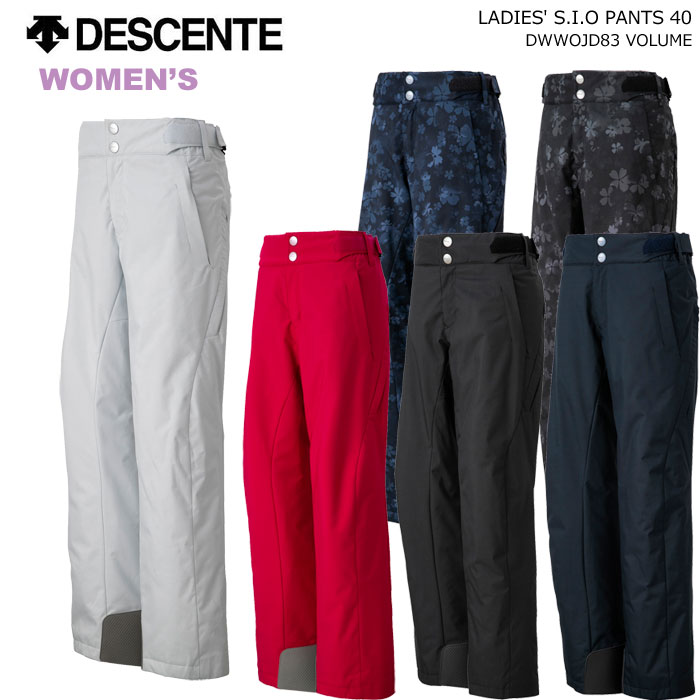 DESCENTE/デサント レディーススキーウェア S.I.O スキーパンツ/DWWOJD83(2020)19-20