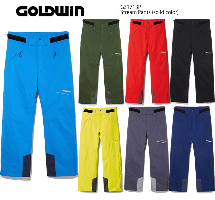 スキーウェア パンツ/GOLDWIN ゴールドウイン/ソリッドカラー G31713P(2018)