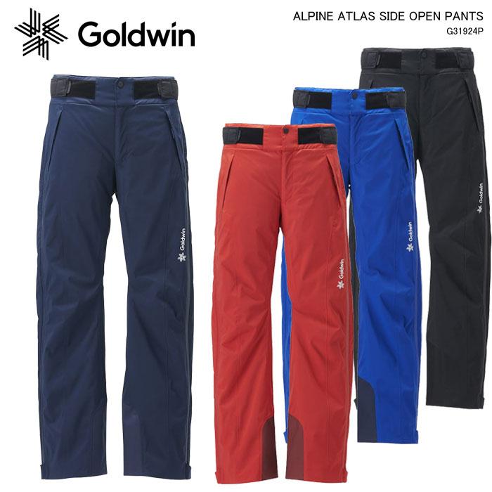 GOLDWIN/ゴールドウイン スキーウェア パンツ/ATLAS SIDE OPEN PANTS/G31924P(2020)19-20