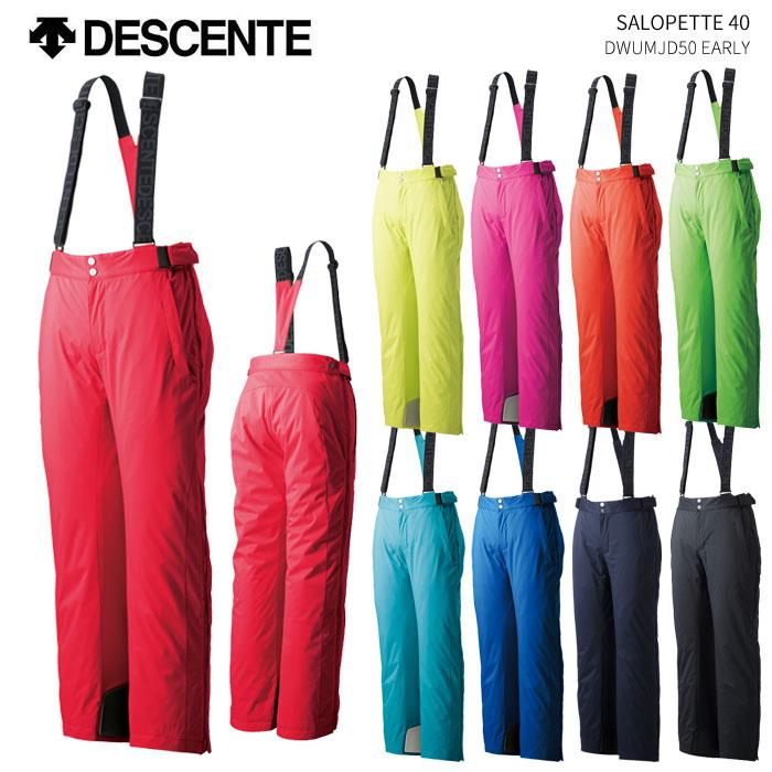DESCENTE/デサント スキーウェア SALOPETTE パンツ 40/DWUMJD50(2019)