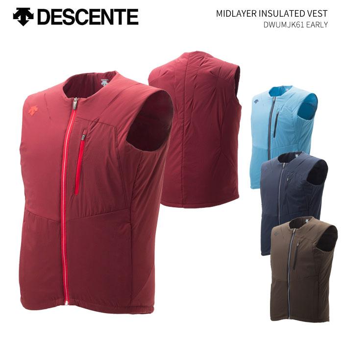 DESCENTE/MIDLAYER INSULATED VEST DESCENTE/デサント スキーウェア ベスト/DWUMJK61(2019)