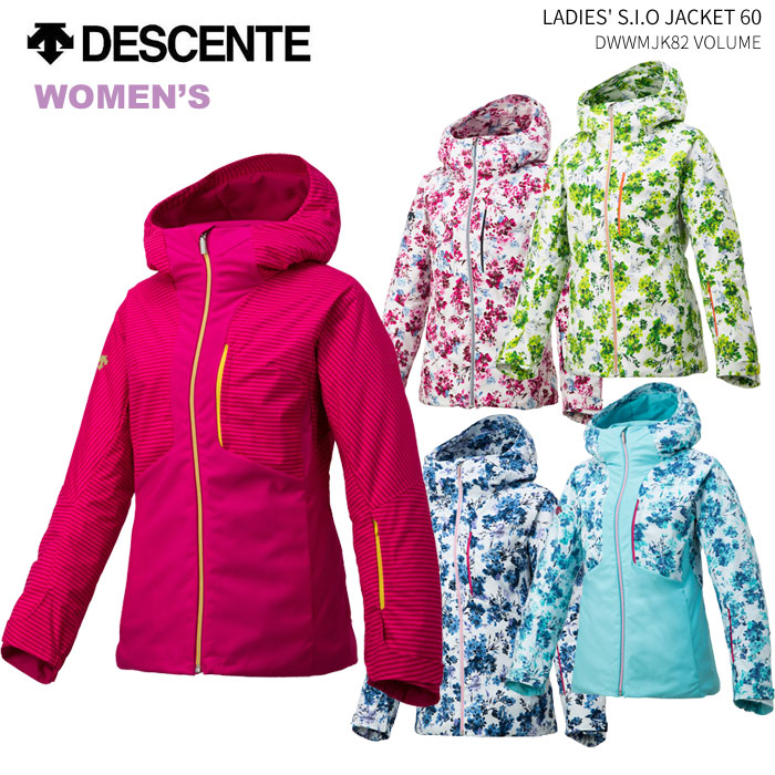 DESCENTE/デサント レディーススキーウェア S.I.O ジャケット/DWWMJK82(2019)