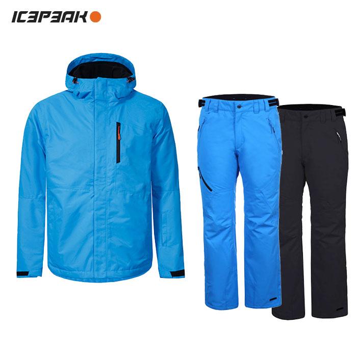 ICEPEAK/アイスピーク スキーウェア 上下セット/BLUE【12z】