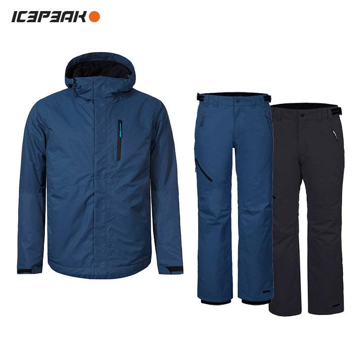 ICEPEAK/アイスピーク スキーウェア 上下セット/NAVY【12z】