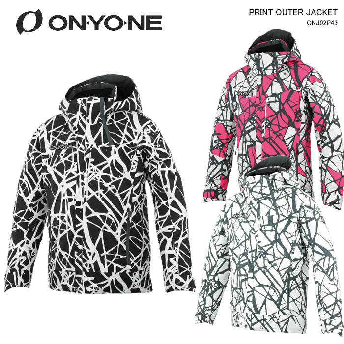 ONYONE/PRINT OUTER JACKET ONYONE/オンヨネ スキーウェア ジャケット PRINT OUTER JACKET/ONJ92P43(2020)19-20