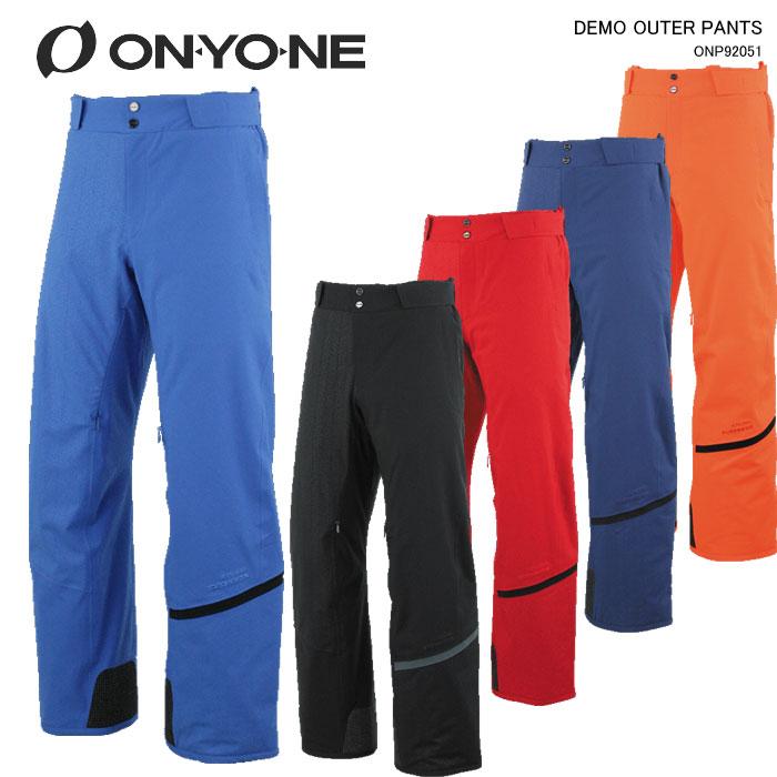ONYONE/オンヨネ スキーウェア パンツ DEMO OUTER PANTS/ONP92051(2020)19-20