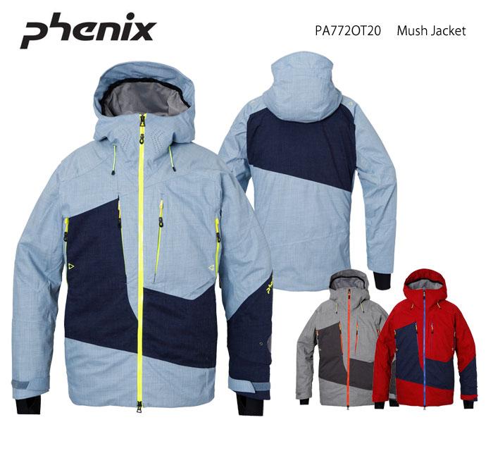 スキーウェア ジャケット/PHENIX フェニックス Mush Jacket PA772OT20(2018)