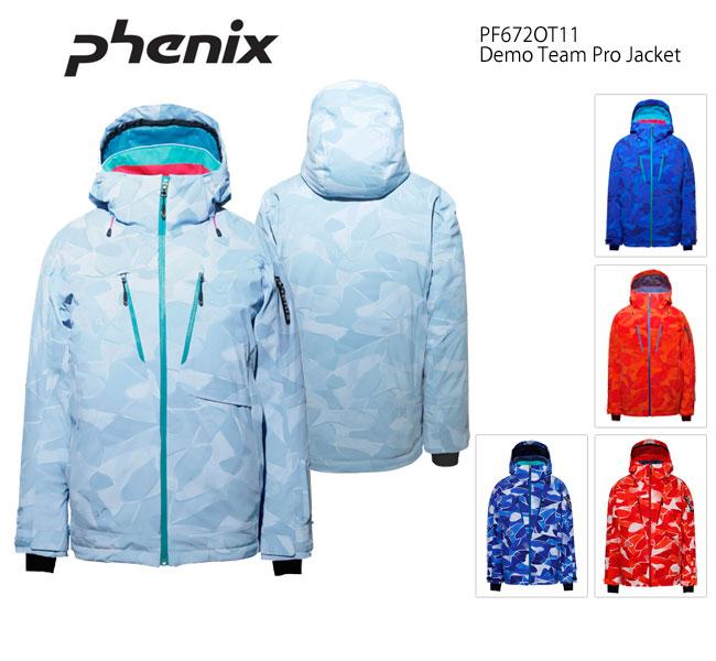 スキーウェア ジャケット/PHENIX デモチームプロ PF672OT11(16/17)