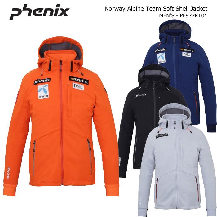 PHENIX/フェニックス スキーウェア ソフトシェルジャケット/PF972KT01(2020)19-20