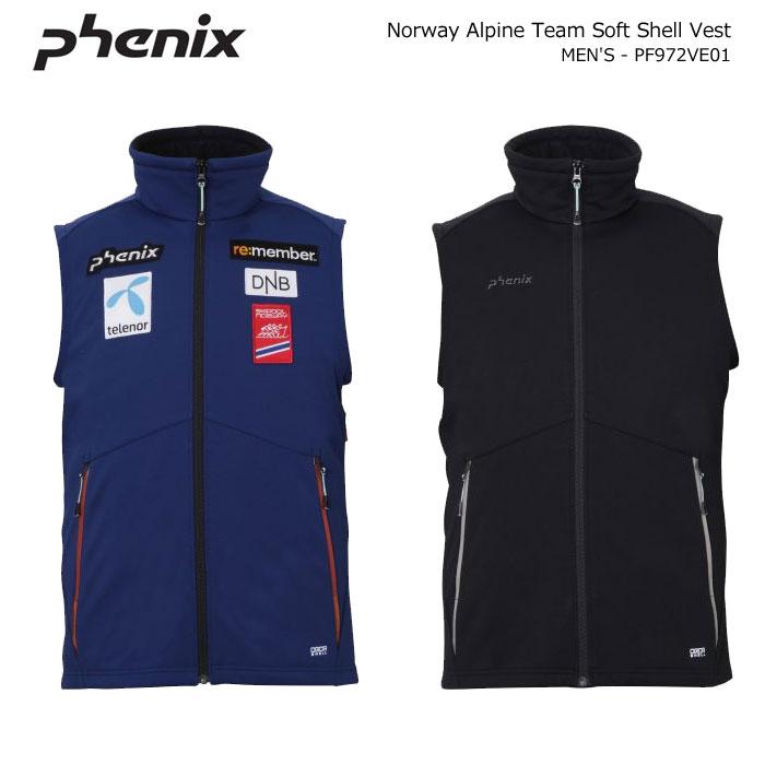 PHENIX/フェニックス スキーウェア ソフトシェルベスト/PF972VE01(2020)19-20
