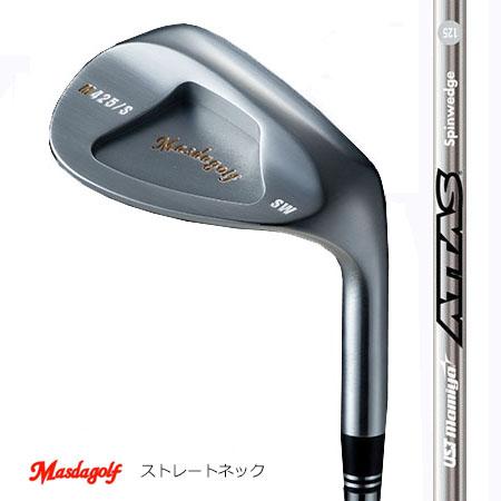 Masudagolf マスダゴルフ スタジオウエッジ M425(ストレートネック)/ATTAS・アッタススピンウエッジ【カスタム・ゴルフクラブ】