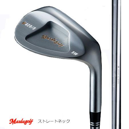 Masudagolf マスダゴルフ スタジオウエッジ M425(ストレートネック)/K'sウエッジ NW110・HW120ブラック【カスタム・ゴルフクラブ】