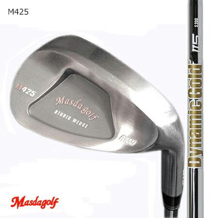 Masudagolf マスダゴルフ スタジオウエッジ M425(ノーメッキ・クロムメッキ)/Newダイナミックゴールド115 ウエッジ専用 52度・58度 2本組【カスタム・ゴルフクラブ】