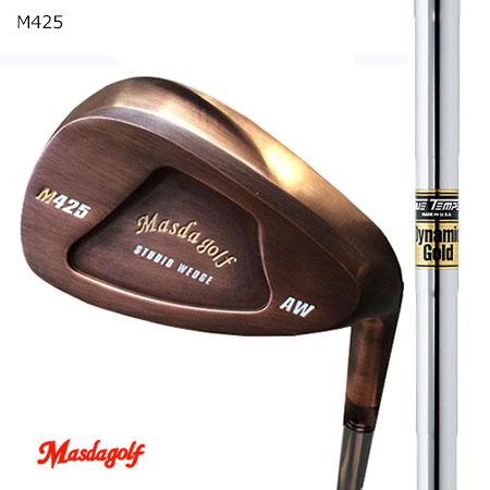 Masudagolf マスダゴルフ スタジオウエッジ M425 特注銅メッキ/ダイナミックゴールド【カスタム・ゴルフクラブ】