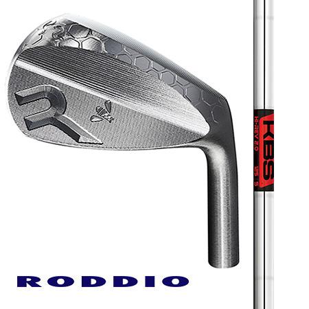 RODDIO ロッディオ・軟鉄ウエッジ 50°52°56°58°/FST KBS Hi Rev2.0 ウエッジ専用シャフト
