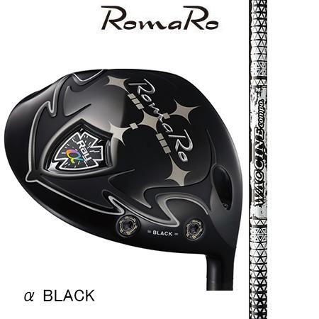 RomaRo ロマロ Ray α BLACK DRIVER/ワクチンコンポGR450V