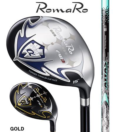 RomaRo ロマロ Ray α FW #3・5・7・9/ATTAS FW 55・65・75・85