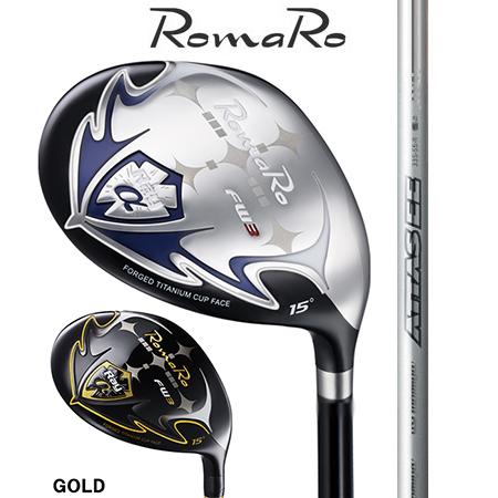 RomaRo ロマロ Ray α FW #3・5・7・9/ATTAS EE 55・65・75・85